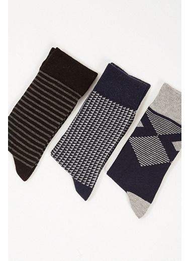Manche Çorap Lacivert